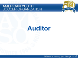 Auditor PowerPoint Presentation