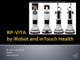 RP-VITA by iRobot and inTouch Health