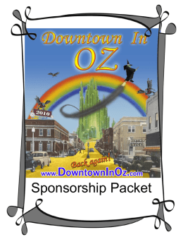 2009 Downtown In Oz Festival