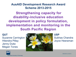 real - Australian Disability and Development Consortium (ADDC)
