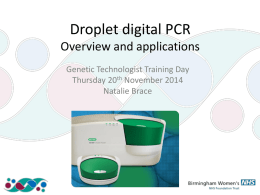 Droplet Digital PCR