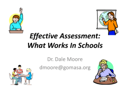 Assessment - 21 Things for the 21st Century Administrator