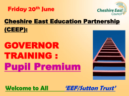 Governor PP training - overall presentation – 20th June