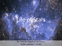 Life of stars - WordPress.com