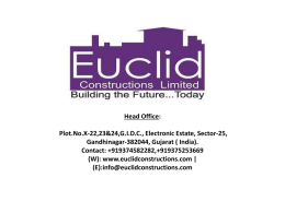 Project - Euclid Construction