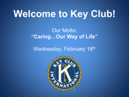 File - Cy-Fair Key Club