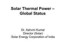 SOLAR PV PUMPS FOR AGRICULTURE AND RELATED USES