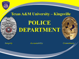 UPD PPT - Texas A&M University