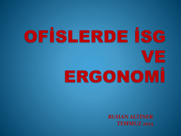 OF*SLERDE *SG VE ERGONOM* E**T*M*