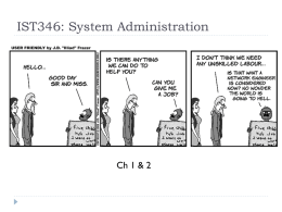 System Administration 101