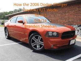 How the 2006 Dodge Charger Daytona RT works updated version