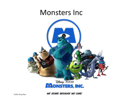 Monsters Inc - Biloxi Public Schools