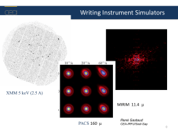 Imaging simulations for the Mid