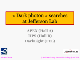 Dark Photon Searches at Jefferson Lab