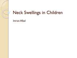 Neck Swellings in Children