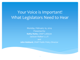Your Voice is Important - Coalition for Nurses in Advanced Practice
