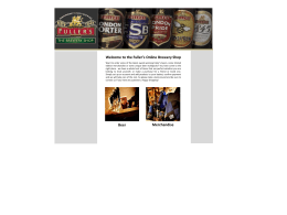 PowerPoint Presentation - Fuller`s Official Online Brewery Shop