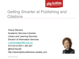 Getting smarter at publishing 2014
