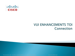 Send Message - Cisco Unity Tools