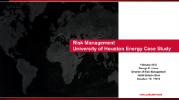 Title, 32pt Arial Bold - University of Houston