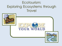 Exploring Ecosystems through Travel 5th grade ELA Unit 2
