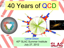 40 Years of QCD