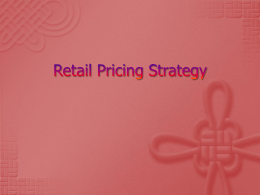 Retail Pricing Startegy PPT8