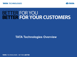 TATA Technologies Overview