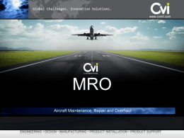 CvI Corporate Overview (MRO)