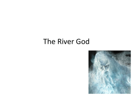 The River God File - the Redhill Academy