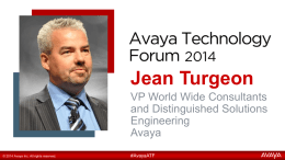 ATF_2014_Jean Turgeon JT Keynote