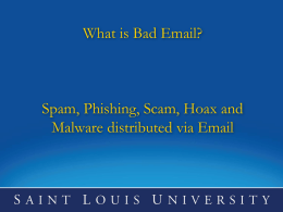 What is Bad Email?