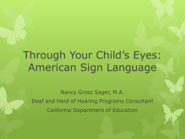 Importance of American Sign Language for Young Children