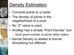 Kernel Density Analysis