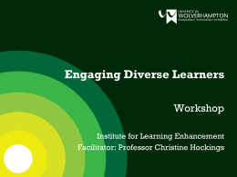 Engaging Diverse Learners