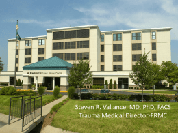 Approved Vallance Trauma - University of Kentucky | Medical Center
