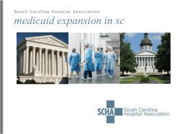 Medicaid expansion presentation