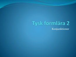 (konjunktioner) i ppt