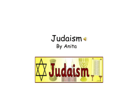 Judaism by Anita