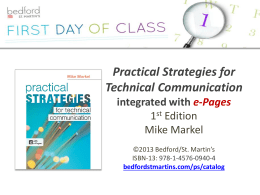 the e-Book to Go for Practical Strategies!