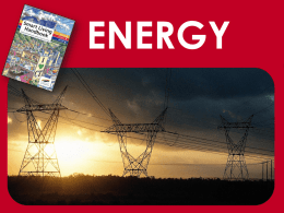 energy - City of Cape Town