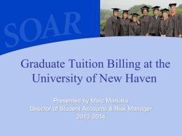 Tuition, Billing & Payment Presentation