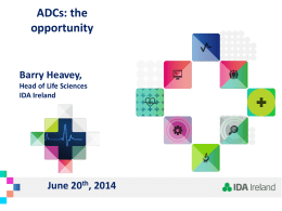 The market opportunity for ADC manufacturing