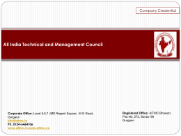 All India Technical and Management Council