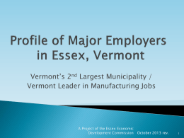 Essex Economic Development Commission