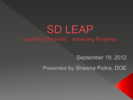 SD Leap, Indistar