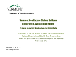 Dian Kahn.pdf - National Association of Health Data Organizations