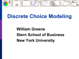 Part 13: Latent Class Models - NYU Stern