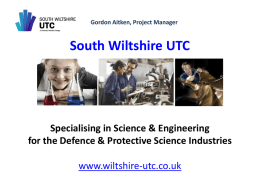 downloaded from - South Wiltshire University Technical College