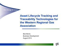 Asset Lifecycle Tracking and Traceability Technologies for the